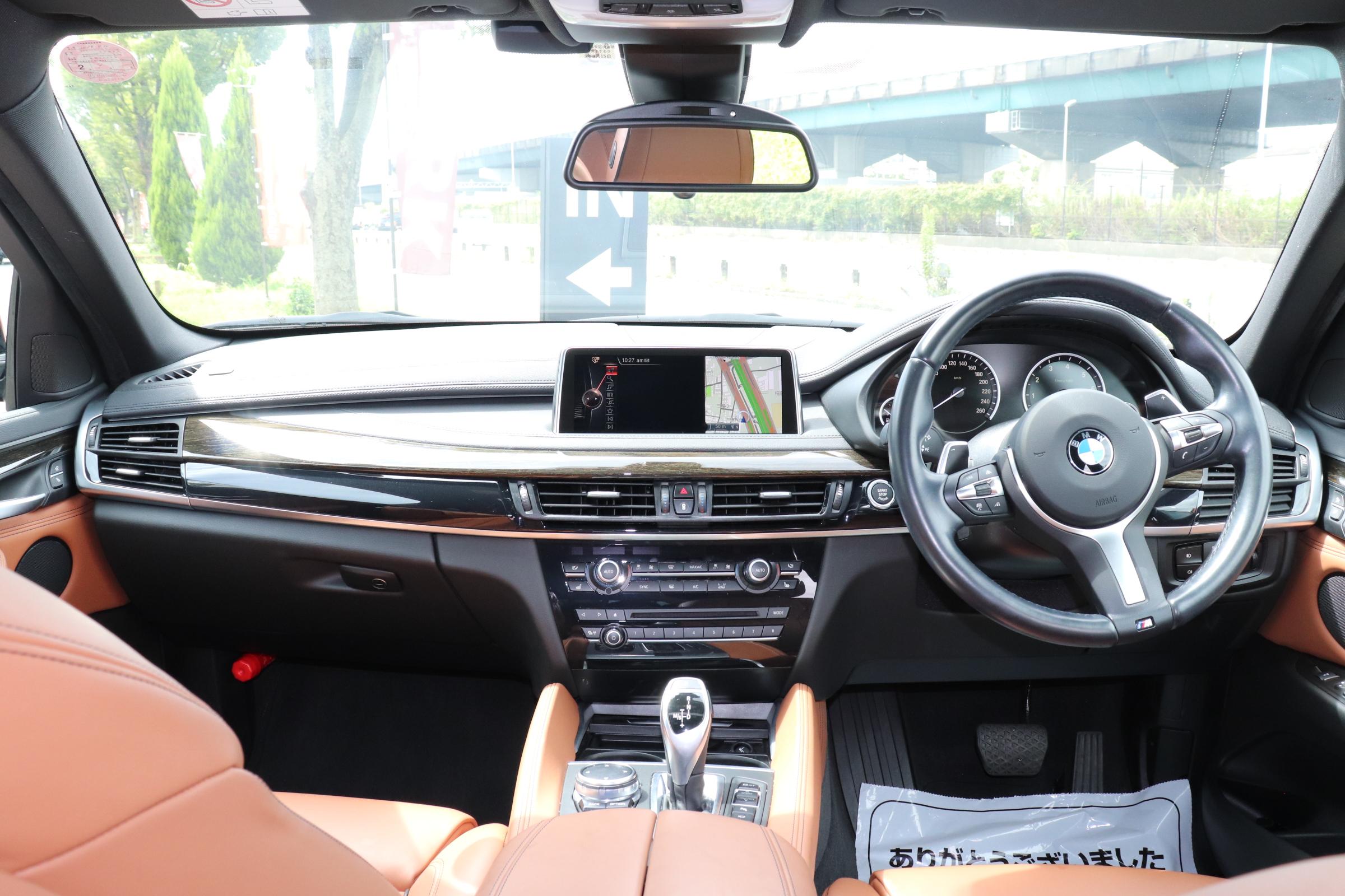 X6 xDrive 35i Mスポーツ セレクトパッケージ ブラウンレザー ACC LEDライト ワンオーナー車両画像10