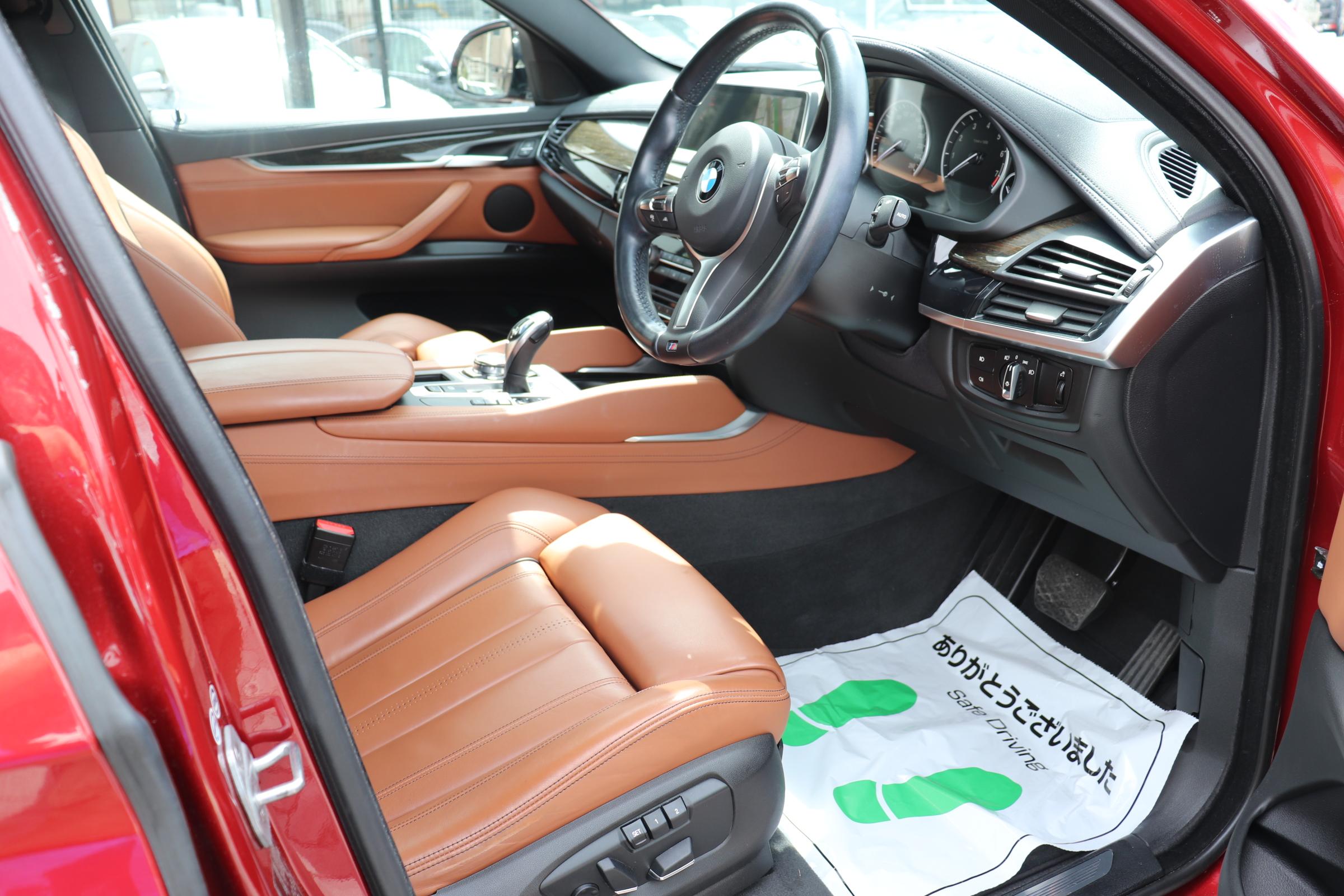 X6 xDrive 35i Mスポーツ セレクトパッケージ ブラウンレザー ACC LEDライト ワンオーナー車両画像11