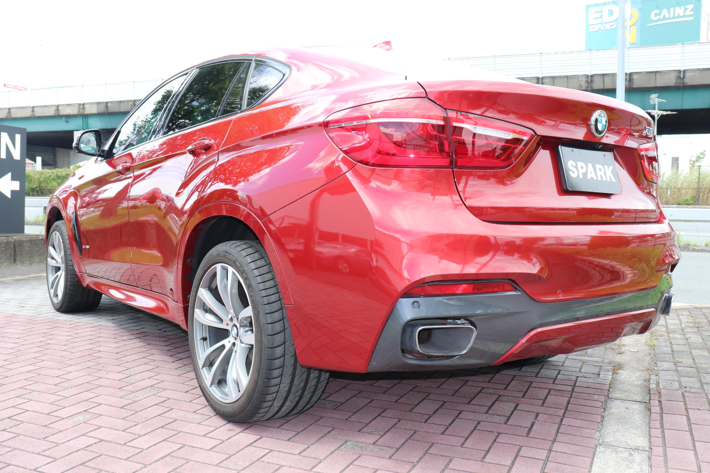 X6 xDrive 35i Mスポーツ セレクトパッケージ ブラウンレザー ACC LEDライト ワンオーナー車両画像07