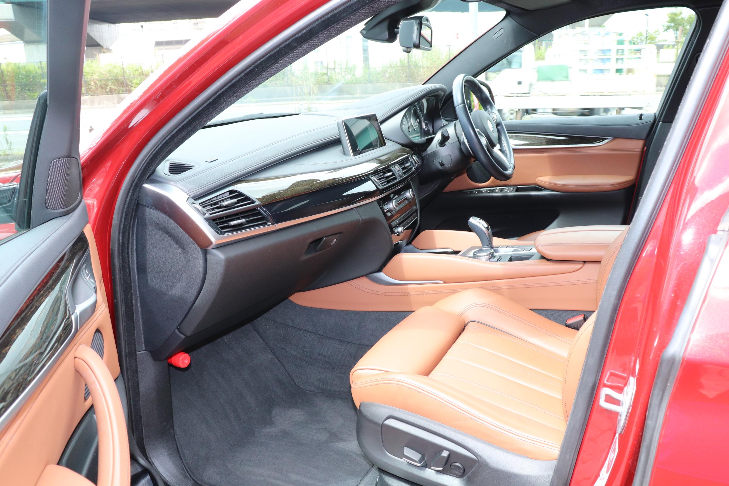 X6 xDrive 35i Mスポーツ セレクトパッケージ ブラウンレザー ACC LEDライト ワンオーナー車両画像13