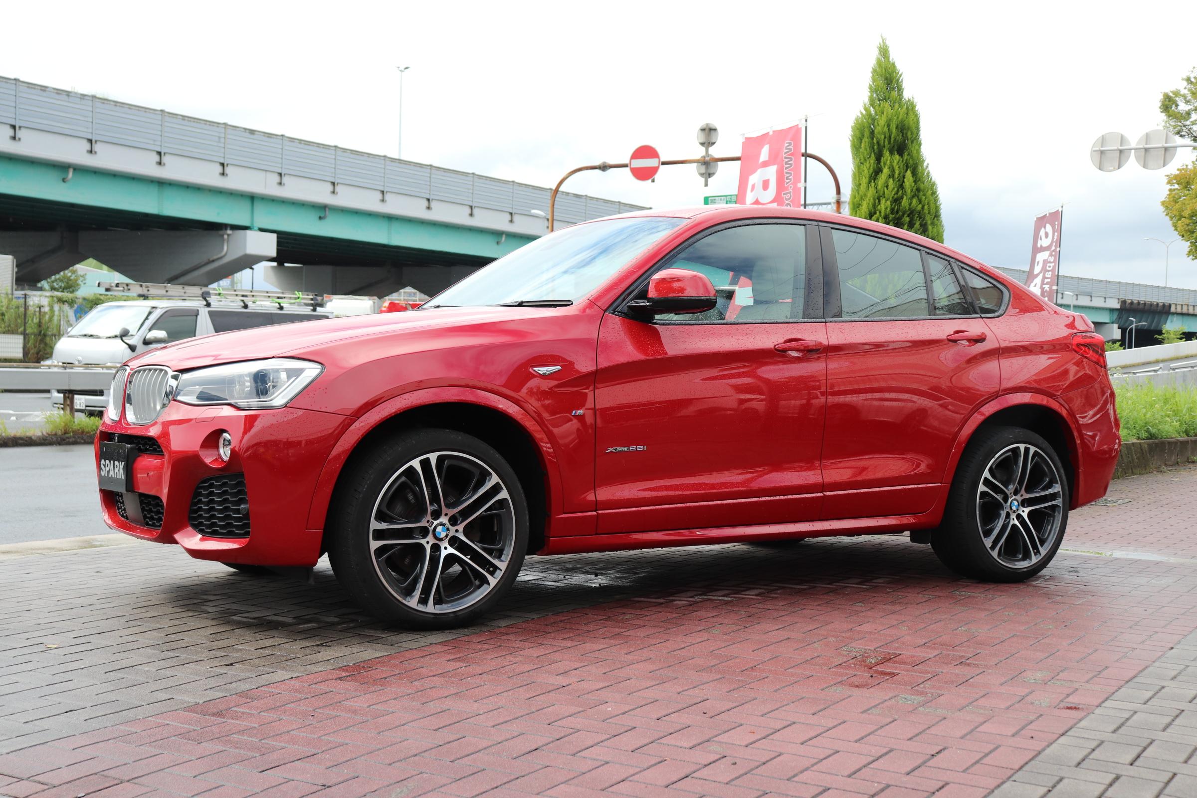 X4 xDrive 28i Mスポーツ 4WD 20インチACCレーンチェンジW LEDヘッド Mスポステア車両画像08