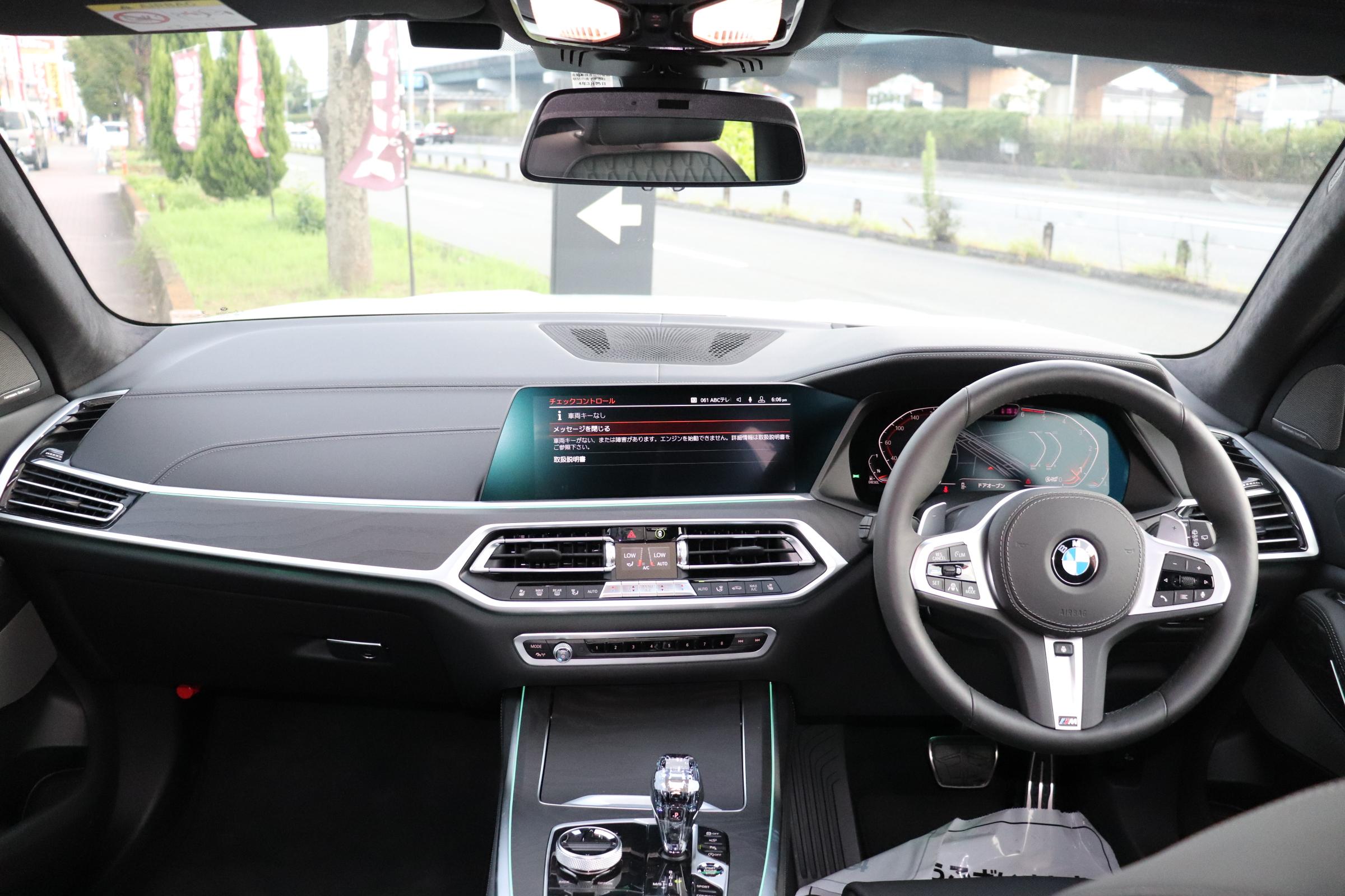 X7 xDrive35d Mスポーツ ウェルネスP スカイラウンジSR リアエンタメ車両画像10