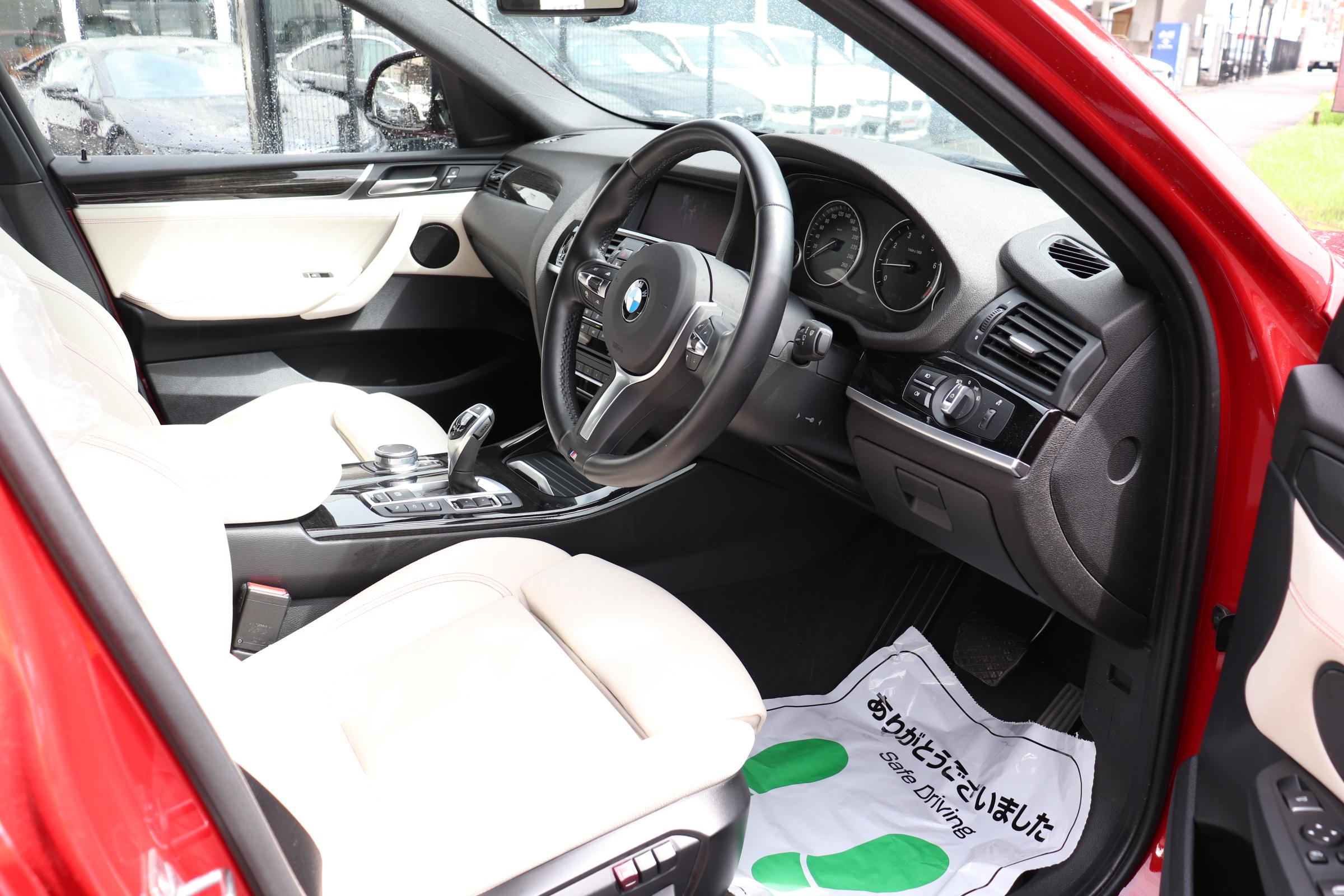 X4 xDrive 28i Mスポーツ 4WD 20インチACCレーンチェンジW LEDヘッド Mスポステア車両画像11