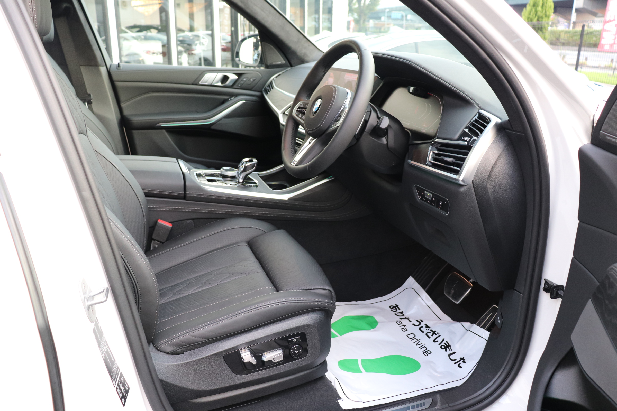 X7 xDrive35d Mスポーツ ウェルネスP スカイラウンジSR リアエンタメ車両画像11