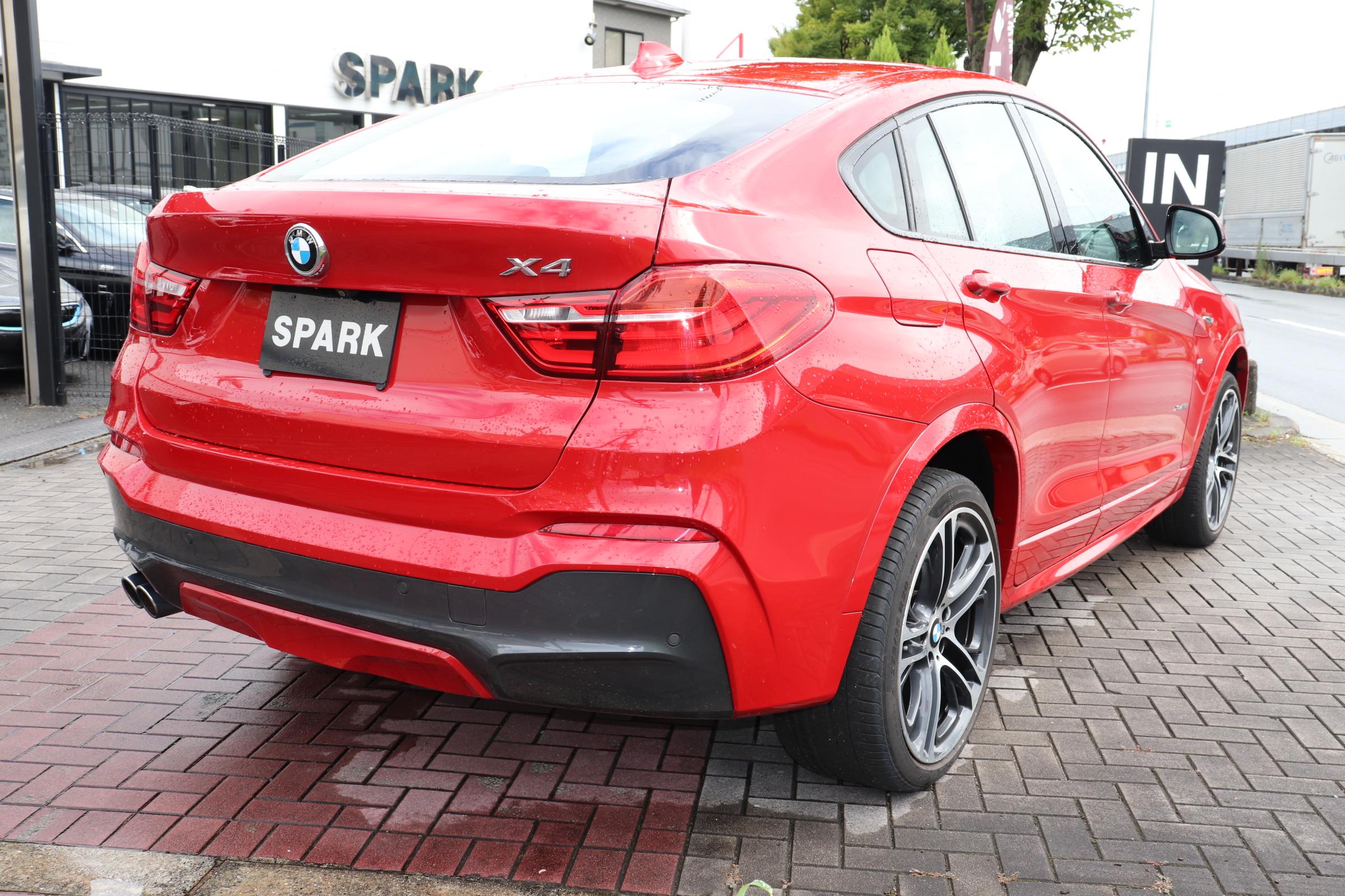 X4 xDrive 28i Mスポーツ 4WD 20インチACCレーンチェンジW LEDヘッド Mスポステア車両画像05