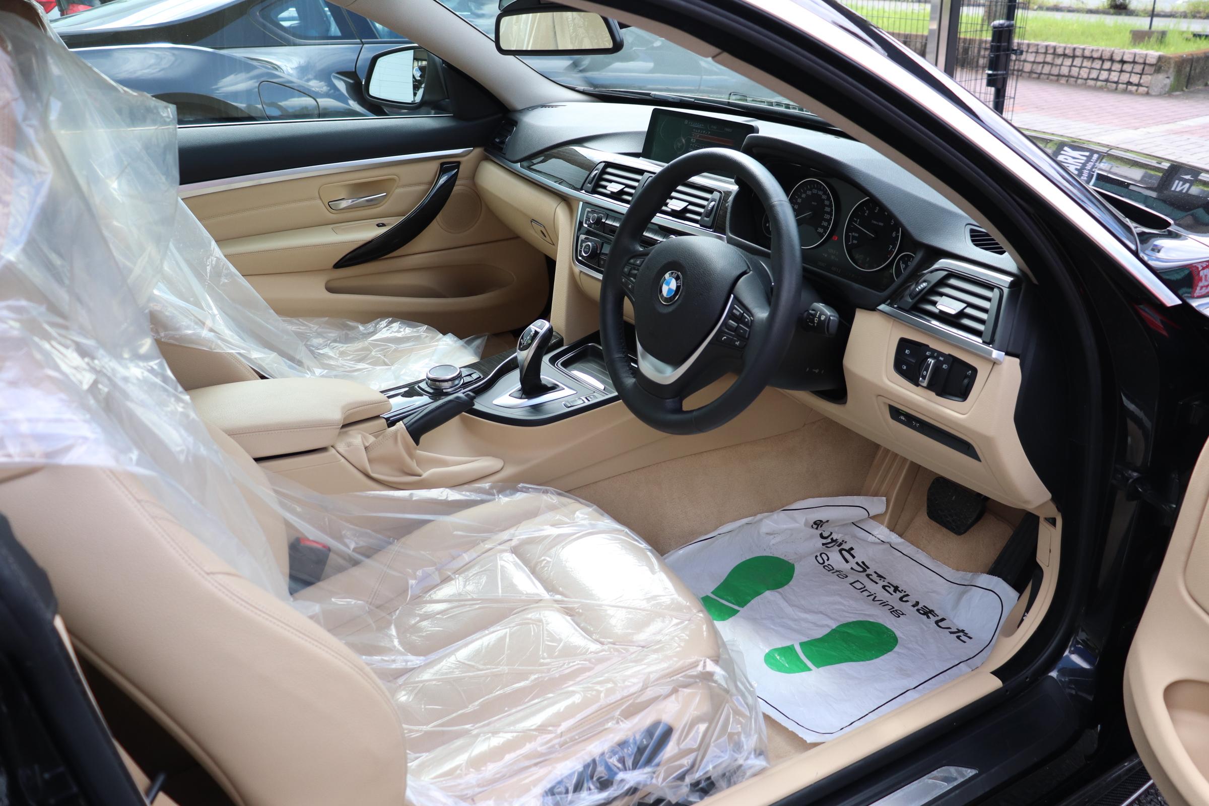 420iクーペラグジュアリーBEAMコンプリートカー LEDヘッドライト 淡革 ACC車両画像11