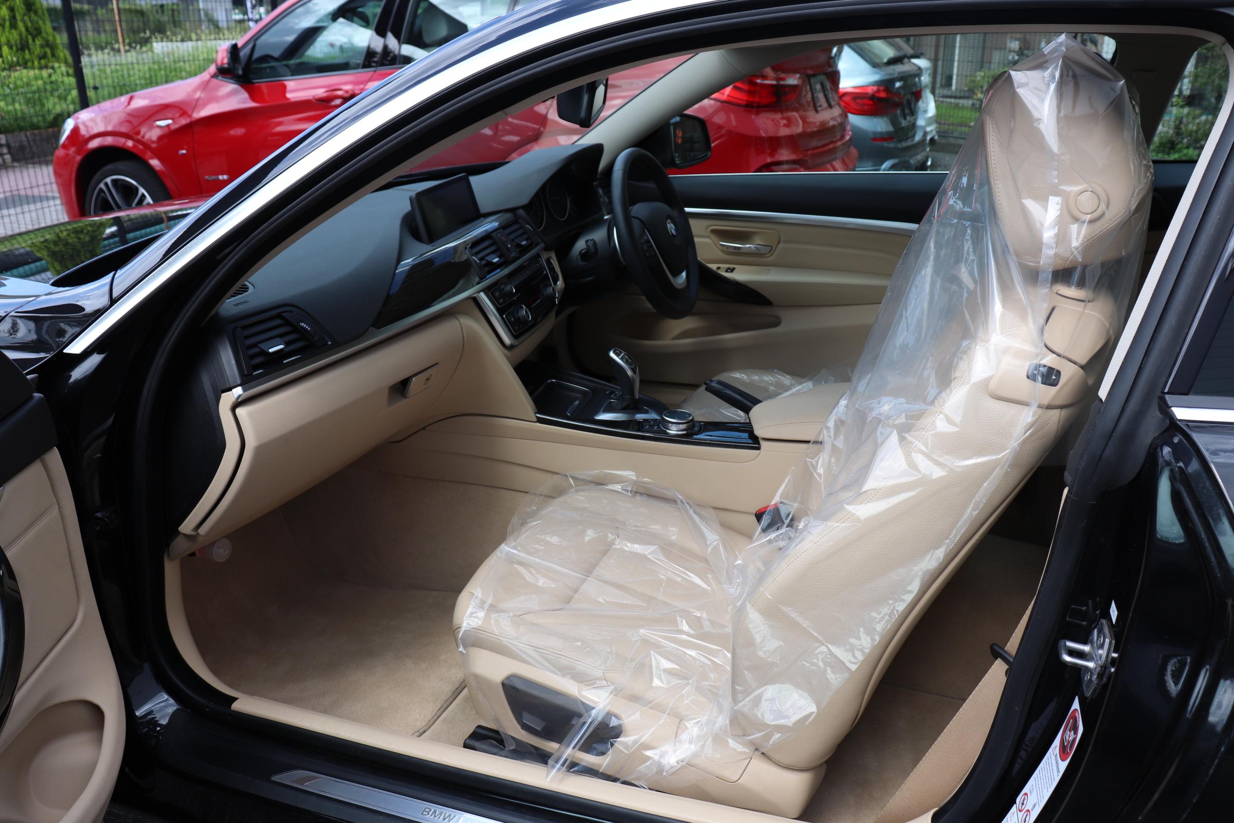 420iクーペラグジュアリーBEAMコンプリートカー LEDヘッドライト 淡革 ACC車両画像12